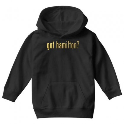 Got Hamilton? Youth Hoodie Designed By Vr46