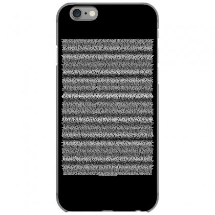 Bee Movie Script Iphone 6/6s Case Designed By Vr46