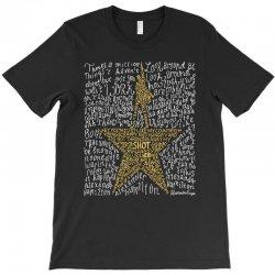 Hamilton Typography T-Shirt | Artistshot