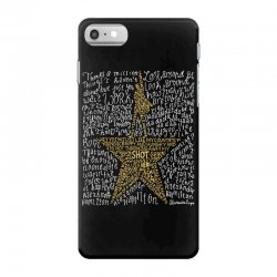 Hamilton Typography iPhone 7 Case | Artistshot