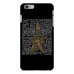 Hamilton Typography iPhone 6 Plus/6s Plus Case | Artistshot