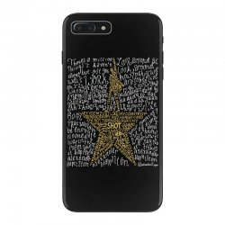Hamilton Typography iPhone 7 Plus Case | Artistshot