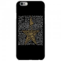 Hamilton Typography iPhone 6/6s Case | Artistshot