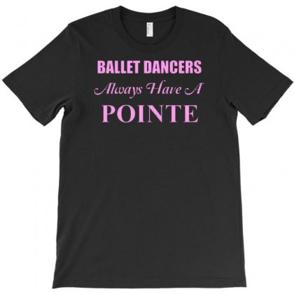 Ballet Dancer T-shirt Designed By Lub1s