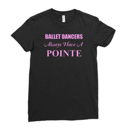 Ballet Dancer Ladies Fitted T-shirt Designed By Lub1s