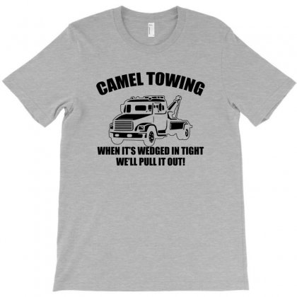 Camel Towing Mens T Shirt Tee Funny Tshirt Tow Service Toe College Humor Cool T-shirt Designed By Marpindua21