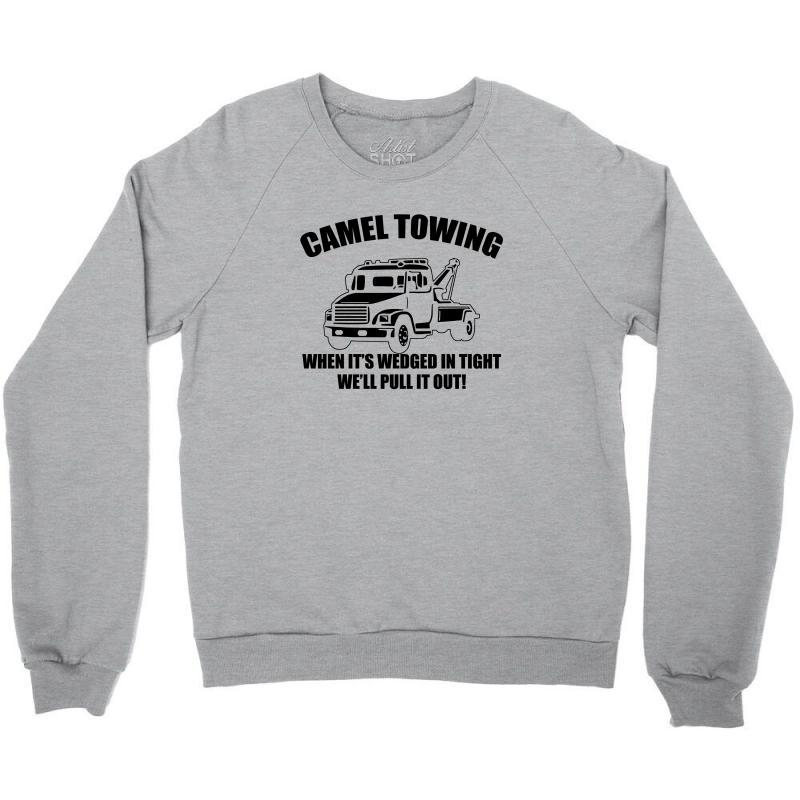 0812afc71 camel towing mens t shirt tee funny tshirt tow service toe college humor  cool Crewneck Sweatshirt