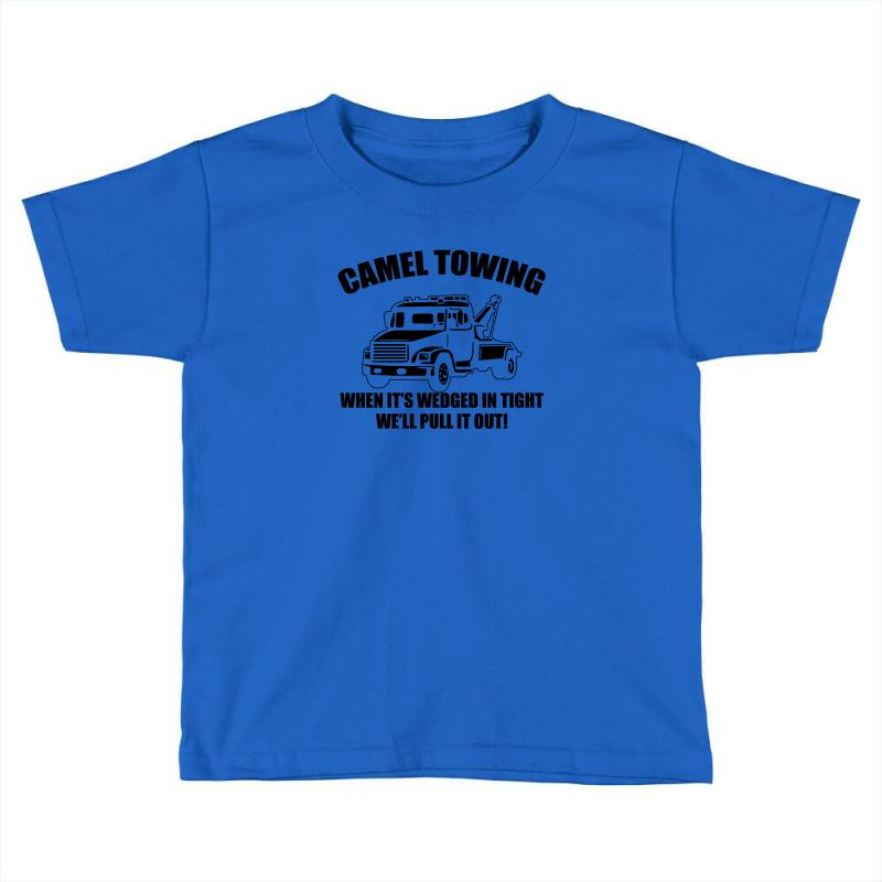 993f188d7 camel towing mens t shirt tee funny tshirt tow service toe college humor  cool Toddler T-shirt