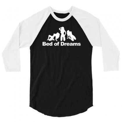 Bed Of Dreams 3/4 Sleeve Shirt Designed By Narayatees