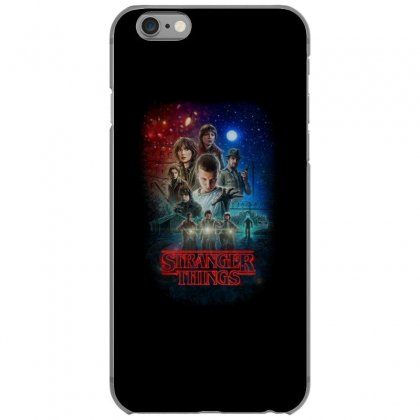 Stranger Things Poster Iphone 6/6s Case Designed By Vr46