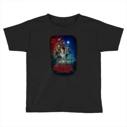 Stranger Things Poster Toddler T-shirt Designed By Vr46