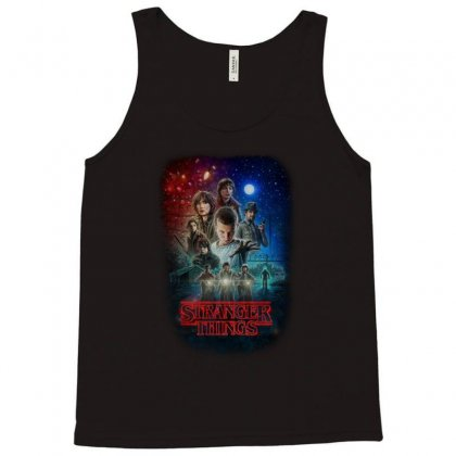 Stranger Things Poster Tank Top Designed By Vr46