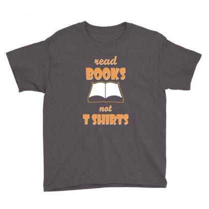Humor Book T Shirt Youth Tee Designed By Katabudi