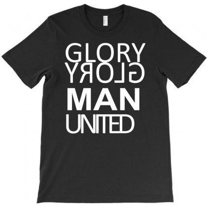 Glory Glory Man U T-shirt Designed By Mardins