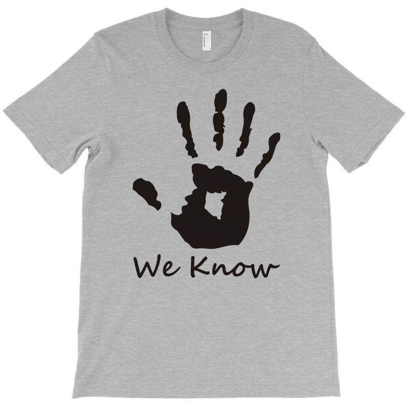SKYRIM TOP DARK BROTHERHOOD T SHIRT WE KNOW HAND NOVELTY GIFT HAND, T SHIRT
