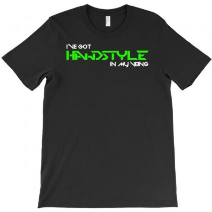 Hardstyle In My Veins T-shirt Designed By Mardins