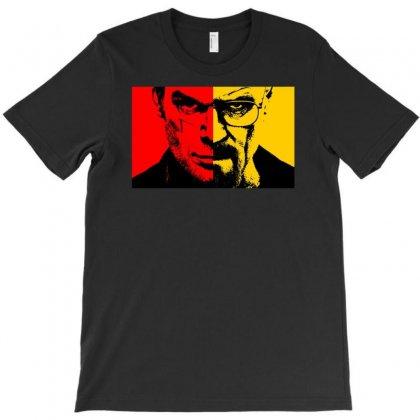 Heisenberg Vs Dexter T-shirt Designed By Mardins