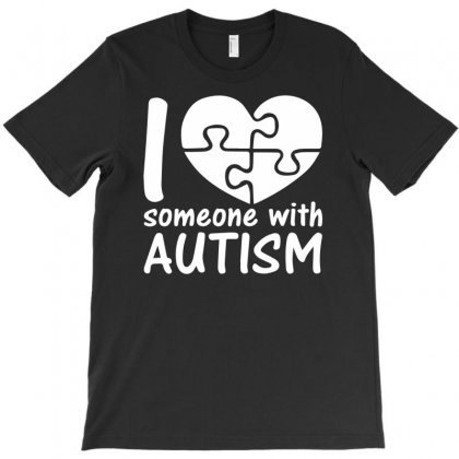 I Love Someone With Autism T-shirt Designed By Mardins