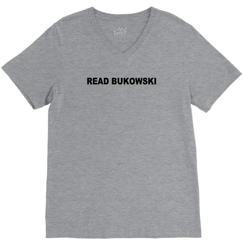 1397787a449a charles bukowski t shirt poetry bukowski jack kerouac cool tshirt poetry  book (also available on crewneck sweatshirts and hoodies) sm 5xl V-Neck Tee