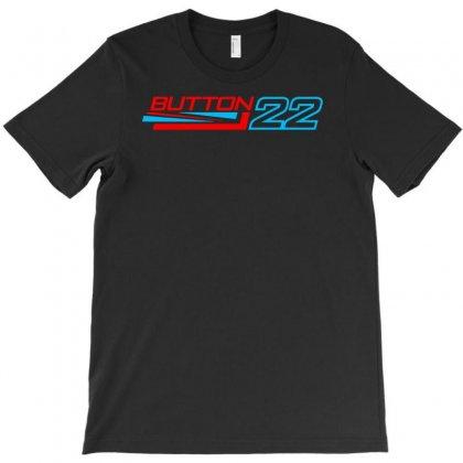 Jenson Button 22 Formula 1 Motor Racing T-shirt Designed By Mardins
