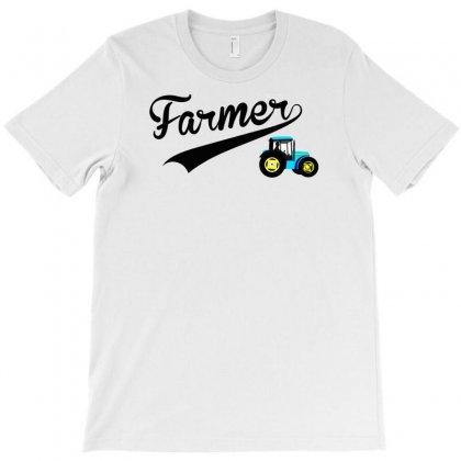 Farmer   Tractor T-shirt Designed By Lub1s
