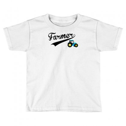 Farmer   Tractor Toddler T-shirt Designed By Lub1s