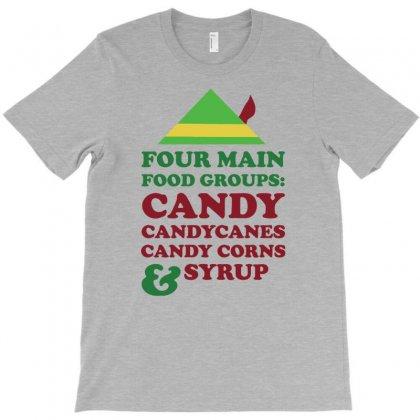 Four Main Christmas Food T-shirt Designed By Narayatees