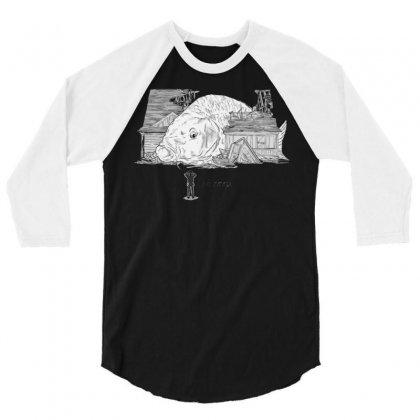 Oh Carp 3/4 Sleeve Shirt Designed By Katabudi