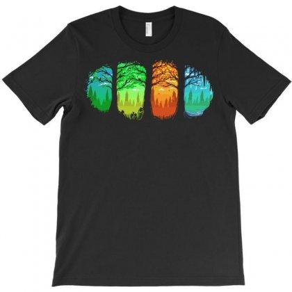 Seasons T-shirt Designed By Sayasiti