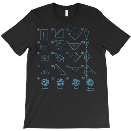 Origami Lesson T-shirt Designed By Sayasiti
