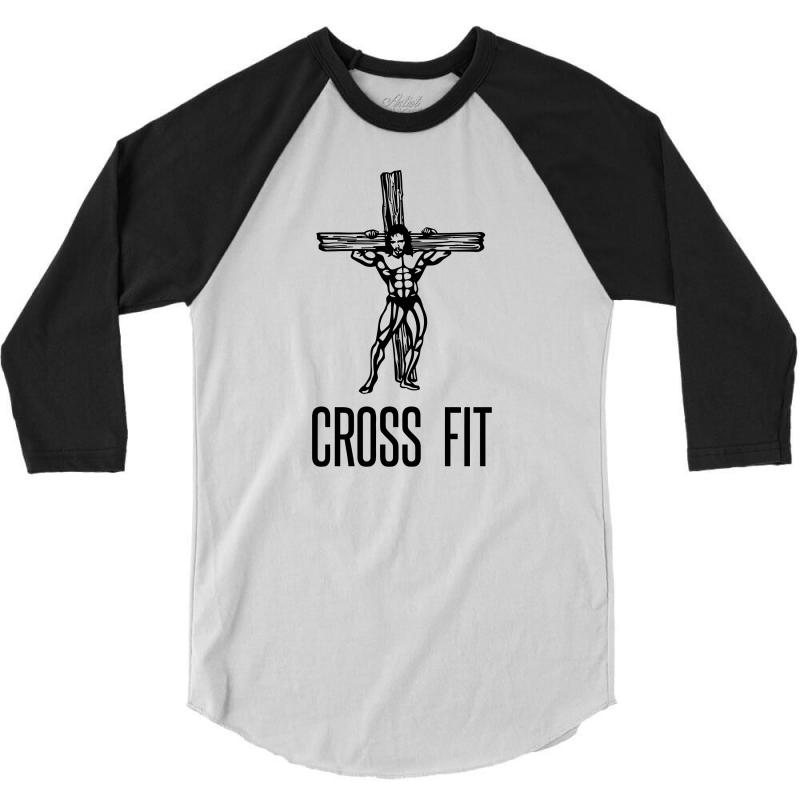 Cross Fit 3/4 Sleeve Shirt | Artistshot