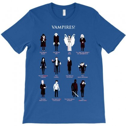 Vampires! T-shirt Designed By Sayasiti
