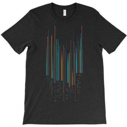 Urban Oscillations T-shirt Designed By Sayasiti
