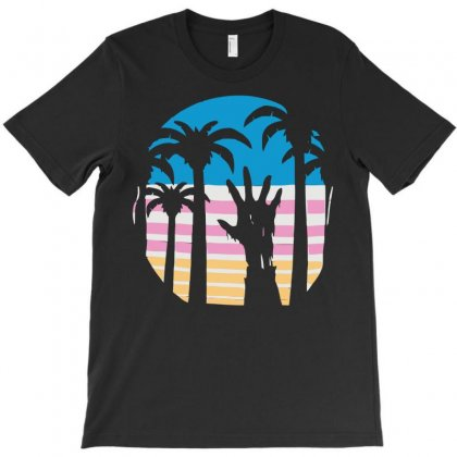 Trouble In Paradise T-shirt Designed By Sayasiti