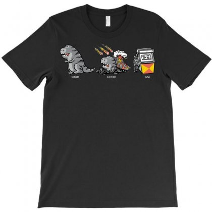 The Three Classical States Of Matter T-shirt Designed By Sayasiti