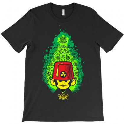 Mister Bobo Masonic Dyna Monkey T-shirt Designed By Setia15ginting