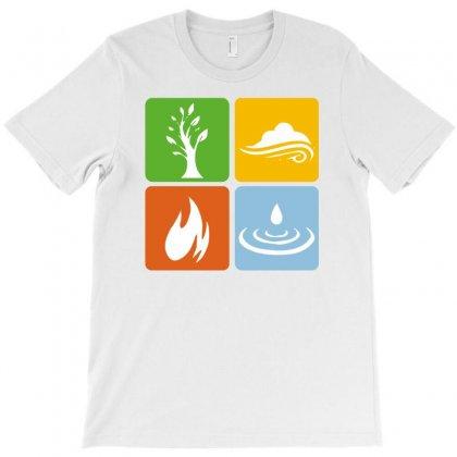 Four Elements Kids T-shirt Designed By Narayatees