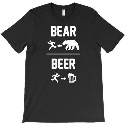 Bear Vs Beer T-shirt Designed By Narayatees