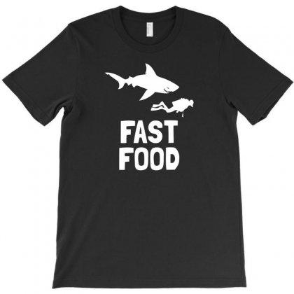 Diver Fast Food T-shirt Designed By Narayatees