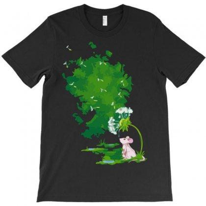 Dandelion Drops T-shirt Designed By Sayasiti