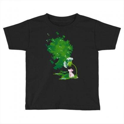 Dandelion Drops Toddler T-shirt Designed By Sayasiti