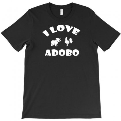 I Love Adobo T-shirt Designed By Lub1s