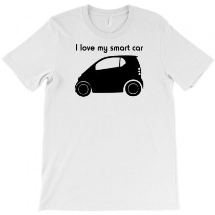 I Love My Smart Car T-shirt Designed By Lub1s
