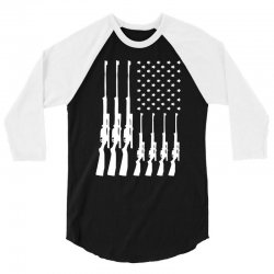 american guns can't ban these 3/4 Sleeve Shirt | Artistshot