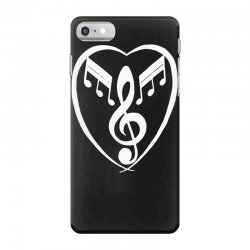 music heart iPhone 7 Case | Artistshot
