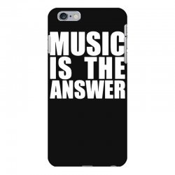 music is the answer iPhone 6 Plus/6s Plus Case | Artistshot