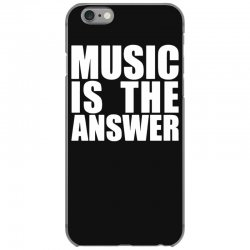 music is the answer iPhone 6/6s Case | Artistshot