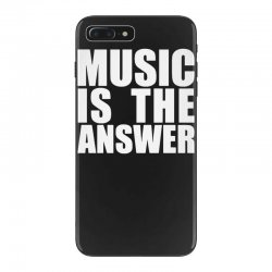 music is the answer iPhone 7 Plus Case | Artistshot