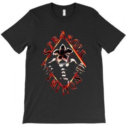 Stranger Things T-shirt Designed By Pln