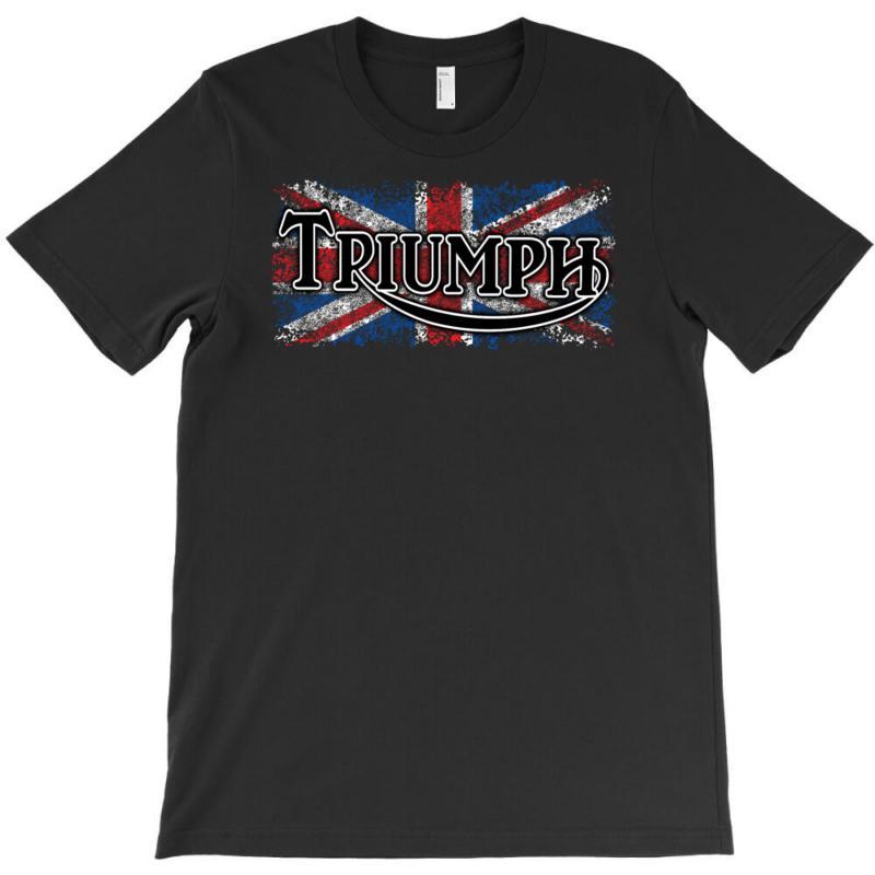 470394ef Custom Triumph T-shirt By Secreet - Artistshot